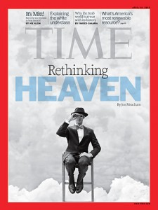 Rethinking Heaven: Time Magazine cover for April 16, 2012